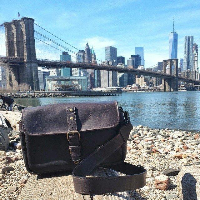 New york city by the Brooklyn bridge